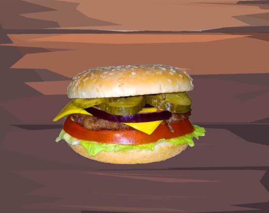 биф чизбургер1